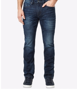 Men's Six-X Slim-Straight-Fit Stretch Dark Wash Jeans by Buffalo David Bitton in Sharknado 4: The Fourth Awakens