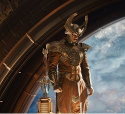 Custom Made Heimdall Costume by Wendy Partridge (Costume Designer) in Thor: The Dark World