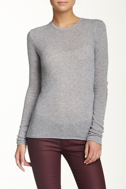 Crew Neck Cashmere Sweater by Velvet By Graham & Spencer in The Boy