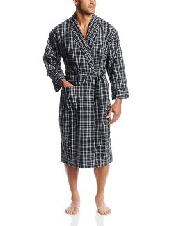 Men's Woven Shawl Collar Robe by Hanes in No Strings Attached