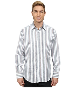 Long Sleeve Woven Shirt by Robert Graham Barrow in The Flash