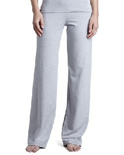 Tricot Relaxed Pants, Gray by La Perla in Walk of Shame