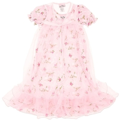Pink Rose Peignoir Set by Laura Dare in Bridge of Spies
