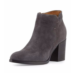 Anzio Suede Ankle Bootie by Alberto Fermani  in The Bachelorette