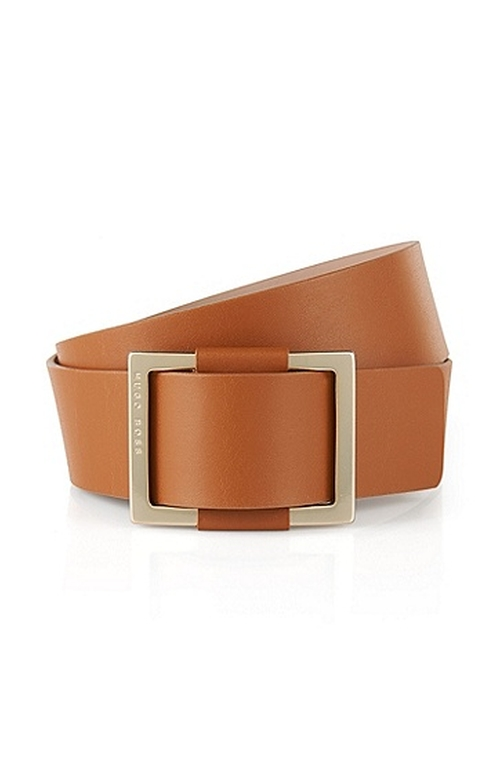 Leather Waist Belt by Boss Hugo Boss in Scream Queens - Season 1 Episode 4