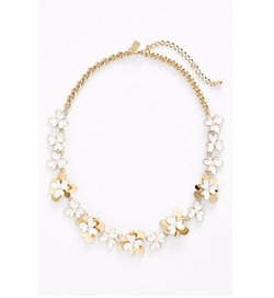 'Pansy Blossoms' Collar Necklace by Kate Spade New York in Fuller House