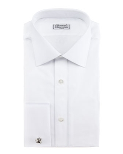 French-Cuff Dress Shirt by Charvet in Steve Jobs
