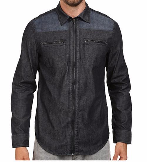 Denim Block Shirt by Calvin Klein Jeans in Teen Wolf - Season 5 Looks