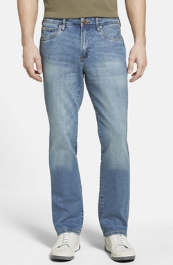 Denim 'Nash' Straight Leg Jeans by Tommy Bahama in 99 Homes