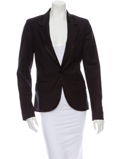Front Button Closure Blazer by Paul & Joe in Secret in Their Eyes