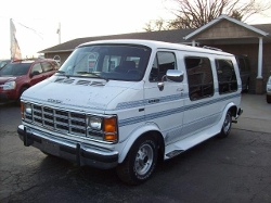 1992 Ram Van by Dodge in Masterminds