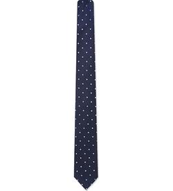 Pinhead Polka Dot Tie by Hugo Boss in Central Intelligence