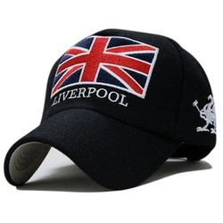 UK Union Jack Flag Cap by Locomo Hats in She's The Man