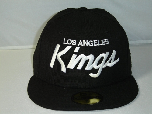 NHL LA Kings Script Custom Black Cap by NewEra in Straight Outta Compton