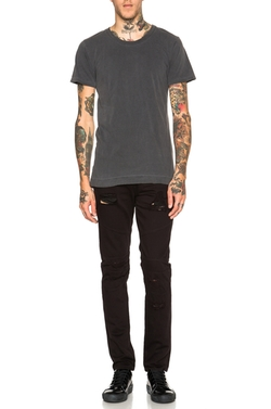 Washed Mercer Tee by John Elliott in Animal Kingdom
