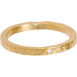 Diamond & Gold Hammered Ring by Jennifer Meyer in What If