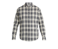 Checked Cotton Shirt by Ami in New Girl
