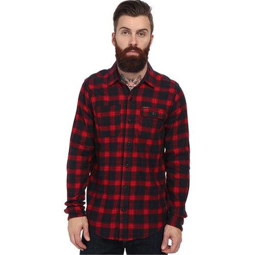 Hadley L/S Flannel Shirt by Volcom in American Ultra