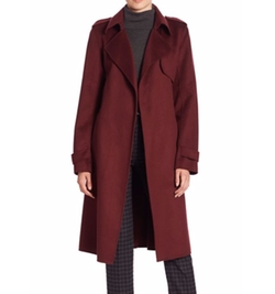 Oaklane Wrap Coat by Theory in How To Get Away With Murder