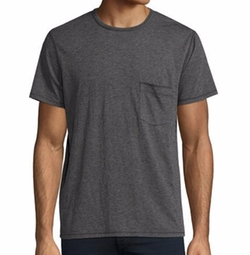 Raw-Pocket Crewneck T-Shirt by 7 For All Mankind in Shadowhunters