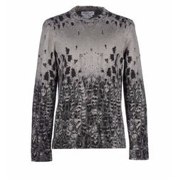 Two-Tone Pattern Sweater by Salvatore Ferragamo in Empire