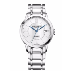 Classima Stainless Steel Bracelet Watch by Baume & Mercier in Empire