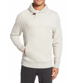 Trevor Shawl Collar Pullover by Billy Reid in New Girl