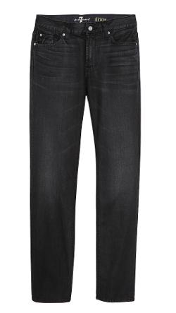 Slim Straight Fit Jeans by 7 For All Mankind in Savages