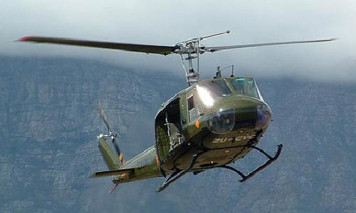 UH 1H Huey by Bell Helicopter in Godzilla