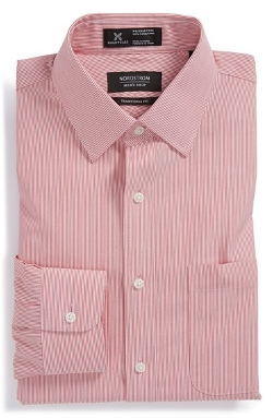 Smartcare Traditional Fit Stripe Dress Shirt by Nordstrom in Ricki and the Flash