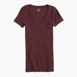 Perfect-Fit V-Neck T-Shirt by J. Crew in Spotlight