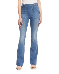 Le Flare De Francoise Jeans by Frame Denim in Modern Family