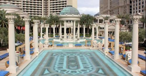 Caesar's Palace (Garden of The Gods) Las Vegas, Nevada in The Big Short