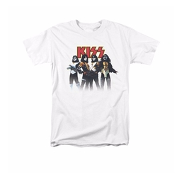Kiss Band Adult T-Shirt by Kiss in Ballers