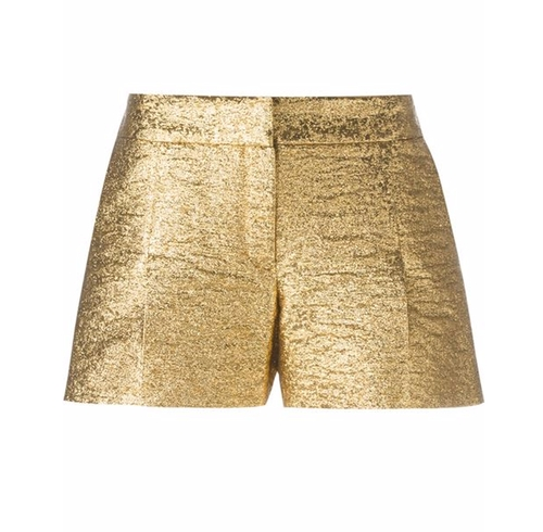 Metallic Shorts by Lanvin in Keeping Up With The Kardashians