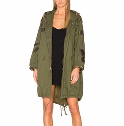 Military Vintage Patch Parka Coat by AS65 in Keeping Up With The Kardashians