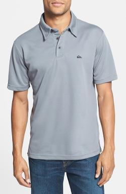 Water Polo Regular Fit Knit Polo by Quiksilver in Wish I Was Here