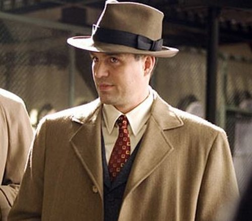 Custom Made Fedora Hat (Mark Ruffalo) by Sandy Powell (Costume Designer) in Shutter Island