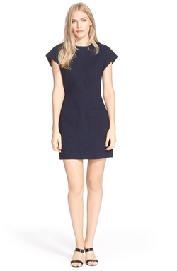 'Delave' Cap Sleeve Sheath Dress by Tibi in Scandal
