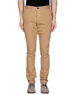 Straight Leg Casual Pants by Paul Smith Jeans in Pan
