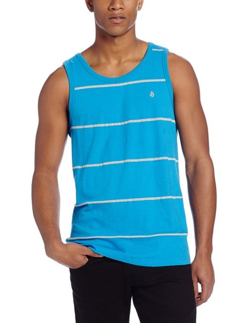 Men's Tangle Tank Top by Volcom in Get Hard