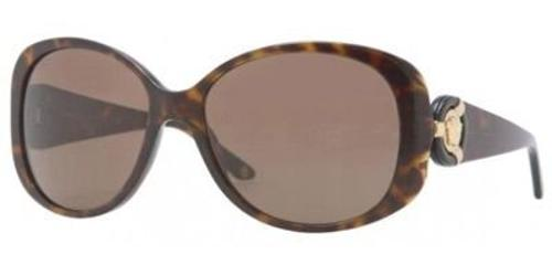 VE4221 Havana Frame Sunglasses, Brown Lenses by Versace in Hot Tub Time Machine 2