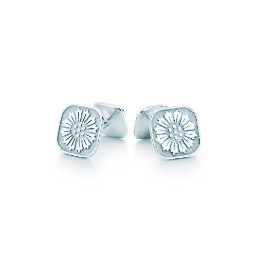 Daisy Cuff Links by Tiffany & Co. in The Great Gatsby