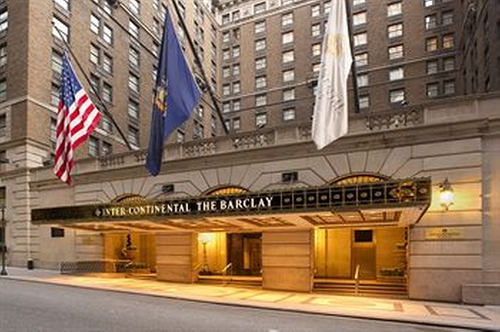 InterContinental New York Barclay Hotel New York City, New York in She's Funny That Way