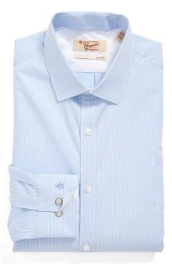 Slim Fit Stripe Dress Shirt by Original Penguin in The Flash
