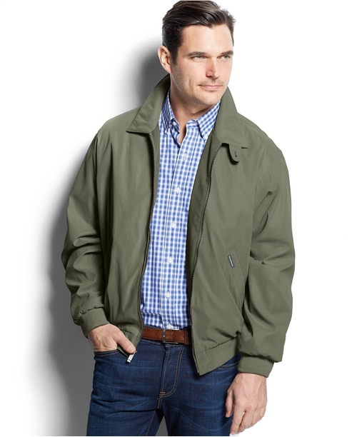 Lightweight Bomber Jacket by Weatherproof in The Departed
