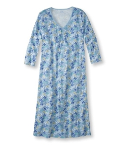Women's Supima Cotton Nightgown by L.L.Bean in Silver Linings Playbook