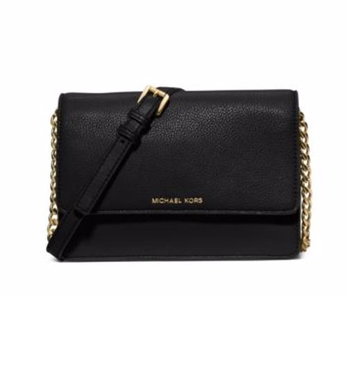 Daniela Small Leather Crossbody Bag by Michael Michael Kors in Fuller House - Season 1 Episode 5