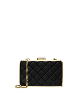 Elsie Quilted Box Clutch Bag by MICHAEL Michael Kors in That Awkward Moment
