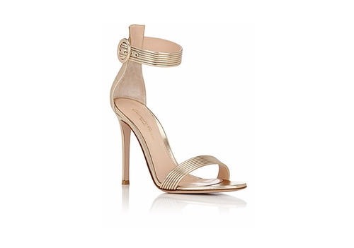Baiadera Ankle-Strap Sandals by Gianvito Rossi in Keeping Up With The Kardashians